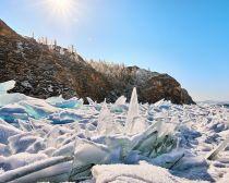 Voyage en Russie - Le Baïkal en hiver