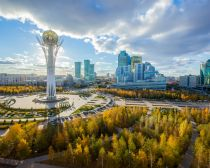 Monument Bayterek Astana, Kazakhstan