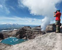 Voyage Kamtchatka, Volcan Gorely | Tsar Voyages
