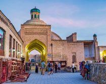 Ouzbekistan - Boukhara - marché Toqi Sarrafon