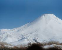 Voyage Kamtchatka Hiver - Volcan Avatcha ou Mont Avatchinski