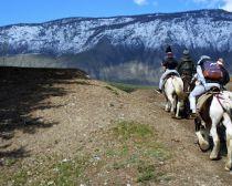 Promenade à cheval dans l'Altai
