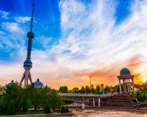 Tour de télévision à Tachkent, Ouzbekistan