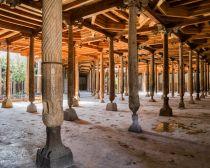 Voyage Ouzbékistan - Khiva - Mosquée Djouma