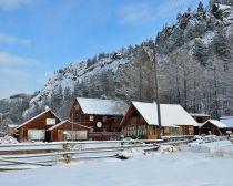 Voyage au Baikal en hiver - Village de Bolchié Koty