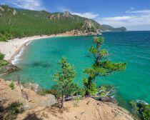 Voyage en Russie, Croisiere Baikal - Baie Pestchanaïa