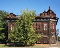 Biisk - Maison du marchand Osipov