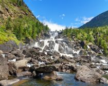 Cascade Utchar, Altai