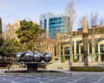 Bakou - Place des Fontaines