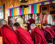 Shutterstock ©  Baïkal - Moines bouddhistes bouriates