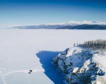 Voyage Russie, Baikal - Ile Olkhon en hiver