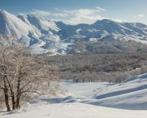 Paysages enneigés du Kamtchatka