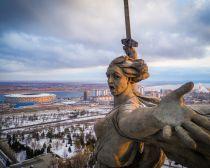 Volgograd - Statue de la Mère Patrie