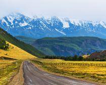 Au nord de la voie de la Tchuya, Altai