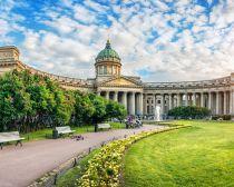 Saint Pétersbourg - Cathédrale Notre Dame de Kazan