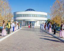 Astrakhan- centre culturel du kazakh Kurmangazy