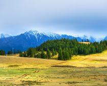 Altaï - Steppe de la Tchouïa