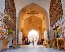 Rue du centre historique de Boukhara, Ouzbekistan