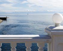 Voyage en Russie, croisière Baikal - Source de la rivière Angara