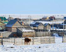 Voyage au Baikal en hiver - Village de Bolchoïé Goloustnoïé