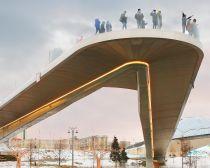 Visite Moscou, Pont du parc Zariadie
