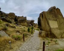 Azerbaïdjan - Réserve de Gobustan
