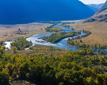 Voyage Altaï - Rivière Tchulychmane