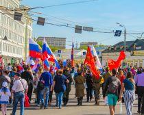Drapeaux des Immortels - Le 9 mai à Moscou