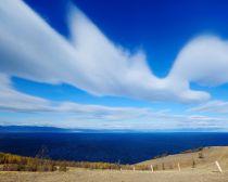 Baïkal : ciel au dessus du lac
