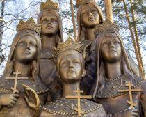 Voyage Ekaterinbourg - Statues des Romanov