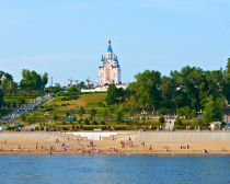 Voyage russie, transsibérien, Khabarovsk - Cathédrale de la Dormition