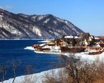 Voyage Russie, Baikal, Listvianka - Panorama