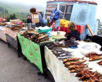 Voyage Transsibérien - Vendeuses de poisson