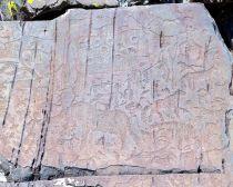Voyage Altaï - Pétroglypes de Kalbak Tash
