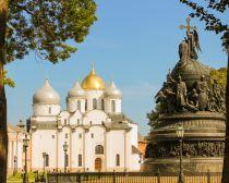 Voyage russie, Anneau d'argent, Veliki Novgorod - Cathédrale Sainte-Sophie