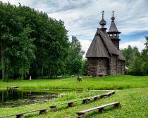 Musée Taltsy de l'habitat traditionnel en bois, Kostroma