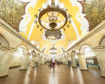 Voyage Moscou - Métro Komsomolskaya