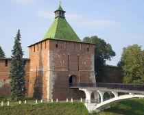 Voyage Russie, Nijni Novgorod - La tour Nikolaskaïa du Kremlin