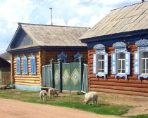 Baikal sacré : Village de Tarbagatai