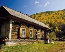 Baikal : maison sibérienne