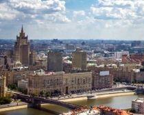 Transsibérien accompagné : vue aérienne de Moscou