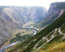 Voyage Altai - Paysage de l'Altaï