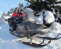 Voyage Carélie - Kiji en motoneige