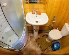 Dauria © Listvianka - Hotel Dauria Salle de bain.jpg