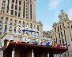 Hébergement Moscou - Hôtel Radisson Ukraine