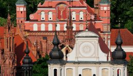 Voyage Lituanie - Vilnius Eglise Saint-Anne