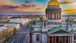 Cathédrale Saint-Isaac à Saint-Pétersbourg