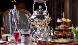 Moscou - Cérémonie du thé à la russe à l'hôtel Metropol