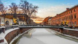 Voyage à Saint-Pétersbourg en hiver
