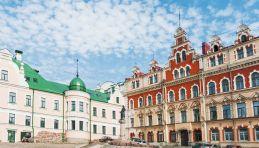 Visite Anneau d'Argent - Vyborg - Place de la vieille Mairie